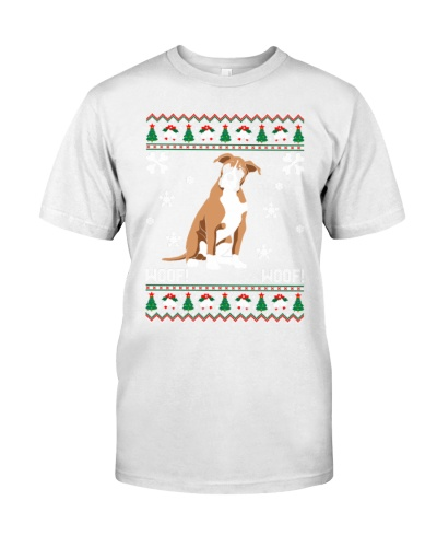 Boxer Ugly Christmas Sweater T Shirts