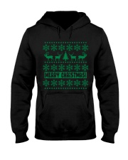 Christmas Caribou T Shirts Hooded Sweatshirt thumbnail