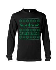 Christmas Caribou T Shirts Long Sleeve Tee thumbnail