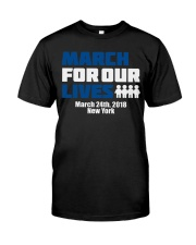 March for our lives - New York Classic T-Shirt thumbnail