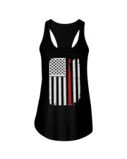 Crochet Hook Yarn American Flag Ladies Flowy Tank thumbnail