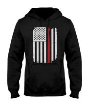 Crochet Hook Yarn American Flag Hooded Sweatshirt thumbnail