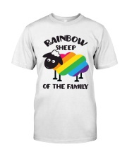 Rainbow Sheep Of The Family Lgbt Pride Classic T-Shirt front
