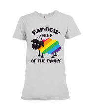 Rainbow Sheep Of The Family Lgbt Pride Premium Fit Ladies Tee thumbnail