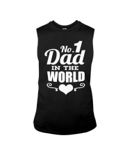 Fathers Day 2018 No 1 Dad In The World Sleeveless Tee thumbnail