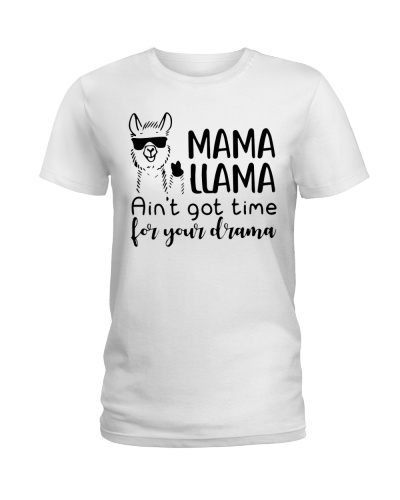 Mama Llama Funny Gift For Mom