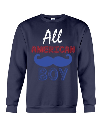 All American Boys 4th Of July Shirt