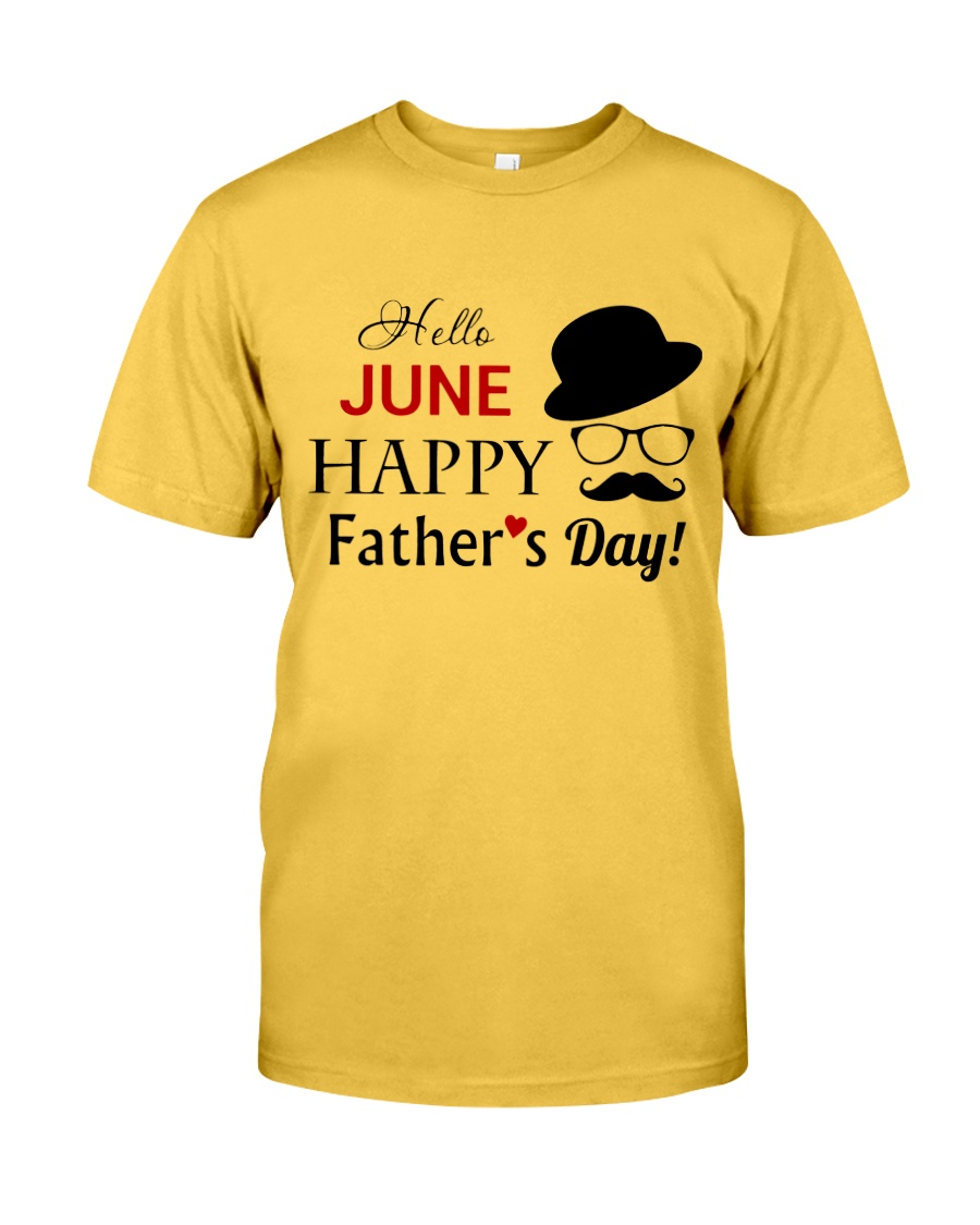 Happy Fathers Day 2018 Classic T-Shirt