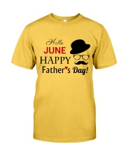 Happy Fathers Day 2018 Classic T-Shirt front