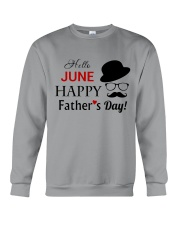 Happy Fathers Day 2018 Crewneck Sweatshirt thumbnail