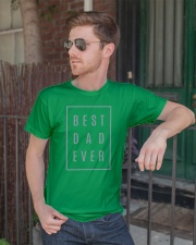 2018 Fathers Day Best Dad Ever Classic T-Shirt lifestyle-mens-crewneck-front-2