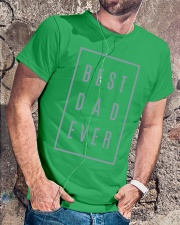 2018 Fathers Day Best Dad Ever Classic T-Shirt lifestyle-mens-crewneck-front-4