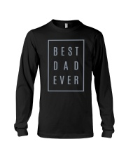 2018 Fathers Day Best Dad Ever Long Sleeve Tee thumbnail