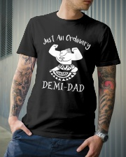 Demi Dad Fathers Day 2018 Premium Fit Mens Tee lifestyle-mens-crewneck-front-6