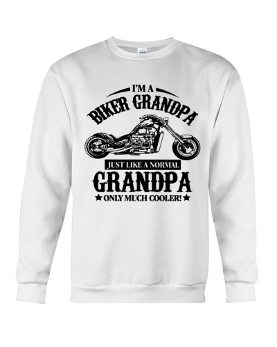 Biker Grandpa Like Normal Much Cooler