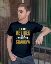 I'm Not Retired Professional Grandpa Classic T-Shirt lifestyle-mens-crewneck-front-2