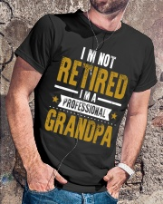 I'm Not Retired Professional Grandpa Classic T-Shirt lifestyle-mens-crewneck-front-4
