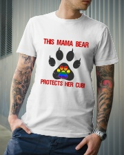 Lgbt Pride Mama Bear Protects Her Cub Classic T-Shirt lifestyle-mens-crewneck-front-6