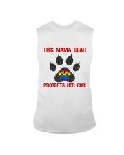 Lgbt Pride Mama Bear Protects Her Cub Sleeveless Tee thumbnail