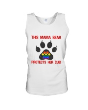 Lgbt Pride Mama Bear Protects Her Cub Unisex Tank thumbnail