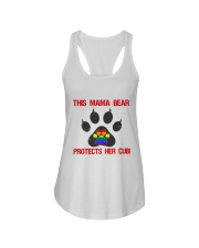 Lgbt Pride Mama Bear Protects Her Cub Ladies Flowy Tank thumbnail