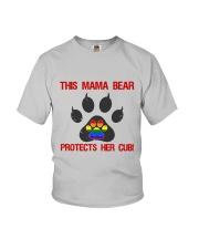 Lgbt Pride Mama Bear Protects Her Cub Youth T-Shirt thumbnail