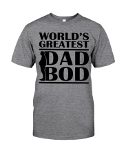 World Greatest Dad Bod Father's Day Classic T-Shirt tile