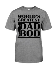 World Greatest Dad Bod Father's Day Premium Fit Mens Tee thumbnail