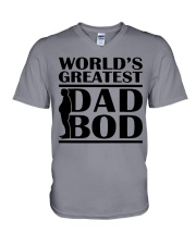 World Greatest Dad Bod Father's Day V-Neck T-Shirt thumbnail