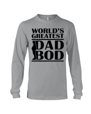 World Greatest Dad Bod Father's Day Long Sleeve Tee thumbnail