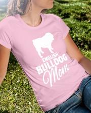 ENGLISH BULLDOG MOM SHIRT Ladies T-Shirt lifestyle-women-crewneck-front-8
