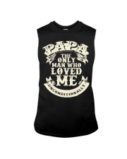 Fathers Day 2018 Papa Love Unconditionally Sleeveless Tee thumbnail