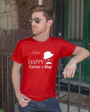 Hello June Happy Fathers Day 2018 Classic T-Shirt lifestyle-mens-crewneck-front-2
