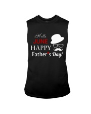 Hello June Happy Fathers Day 2018 Sleeveless Tee tile