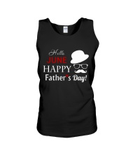 Hello June Happy Fathers Day 2018 Unisex Tank thumbnail