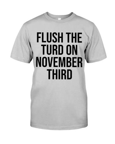 Flush The Turd On November Third