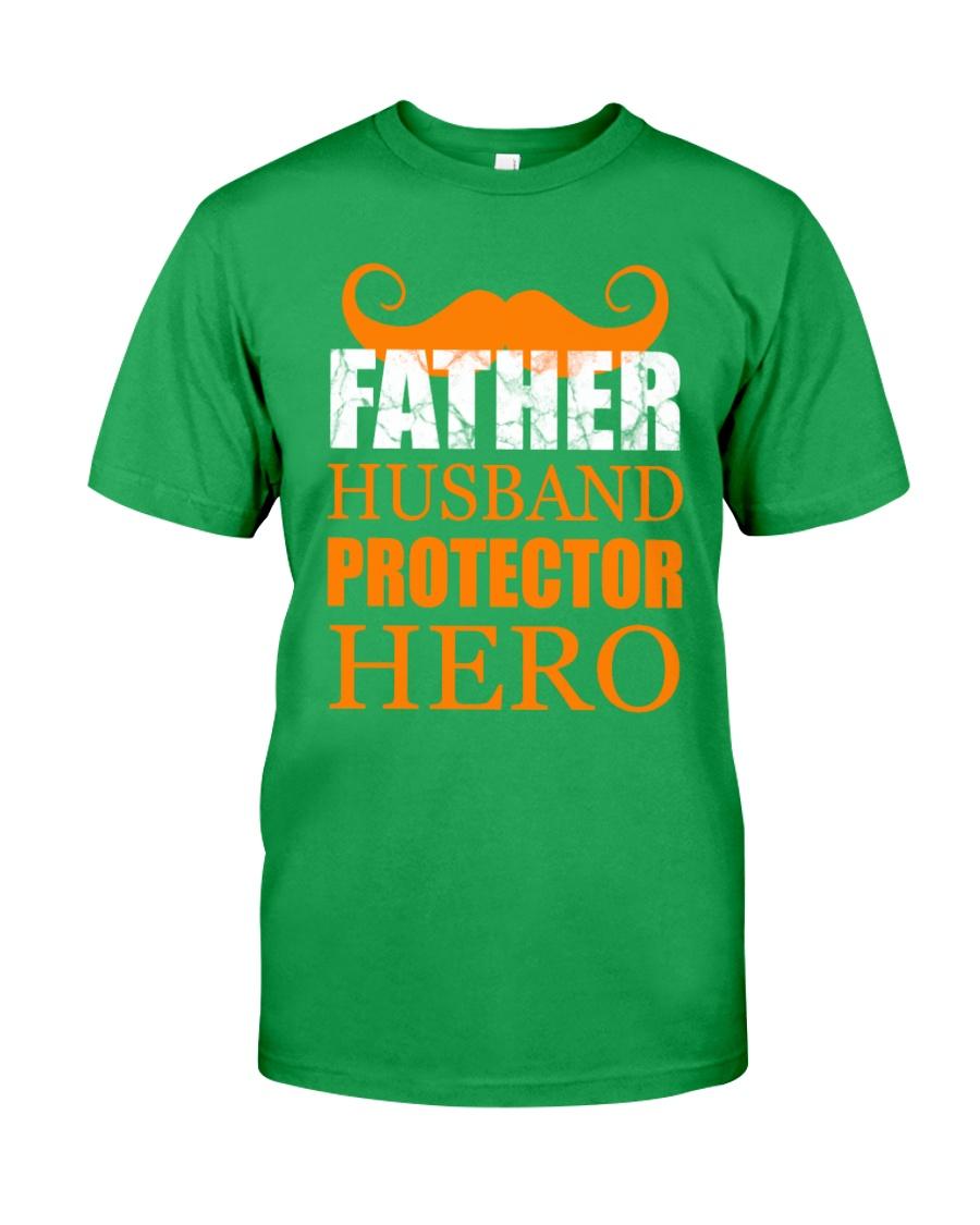 Fathers Day 2018 Father Husband Hero Classic T-Shirt