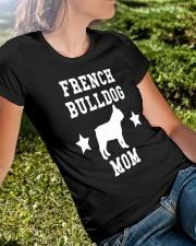 FRENCH BULLDOG MOM SHIRT Ladies T-Shirt lifestyle-women-crewneck-front-8