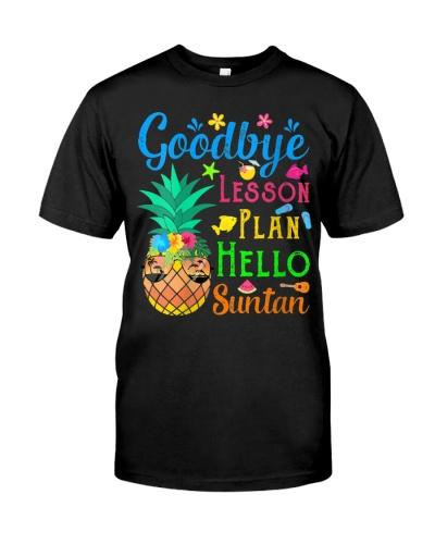 Goodbye Lesson Plan Hello Suntan Pineapple