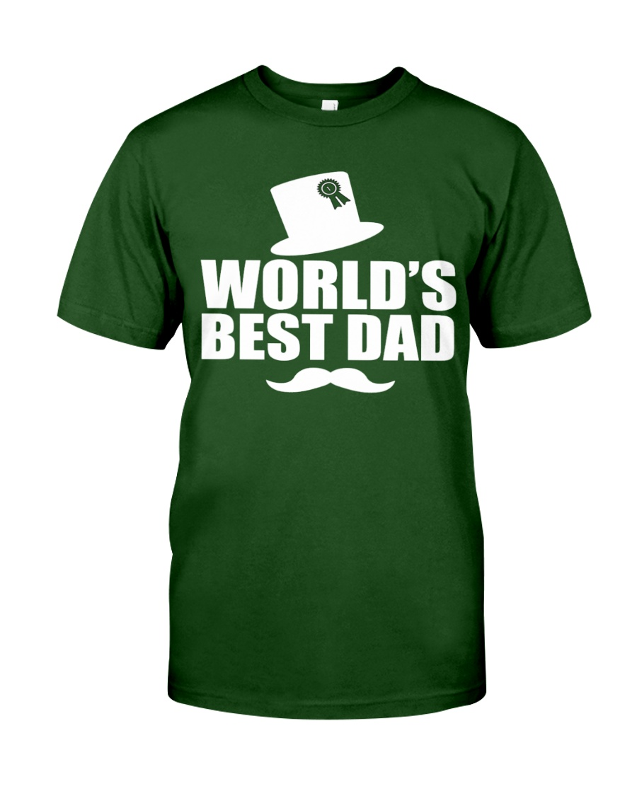 Fathers Day 2018 World Best Dad Classic T-Shirt