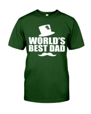 Fathers Day 2018 World Best Dad Classic T-Shirt front