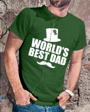 Fathers Day 2018 World Best Dad Classic T-Shirt lifestyle-mens-crewneck-front-4