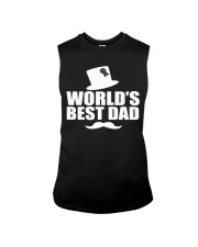 Fathers Day 2018 World Best Dad Sleeveless Tee thumbnail
