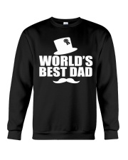 Fathers Day 2018 World Best Dad Crewneck Sweatshirt thumbnail