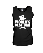 Fathers Day 2018 World Best Dad Unisex Tank thumbnail