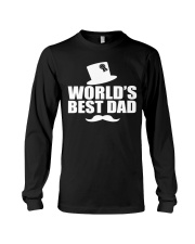 Fathers Day 2018 World Best Dad Long Sleeve Tee thumbnail