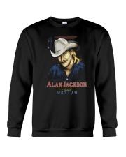 ALAN JACKSON SHIRT AND FACE MASKS Crewneck Sweatshirt thumbnail