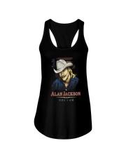 ALAN JACKSON SHIRT AND FACE MASKS Ladies Flowy Tank thumbnail