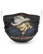 ALAN JACKSON SHIRT AND FACE MASKS 2 Layer Face Mask - Single thumbnail
