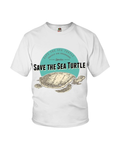 Save the Sea Turtle Endangered Species Tee